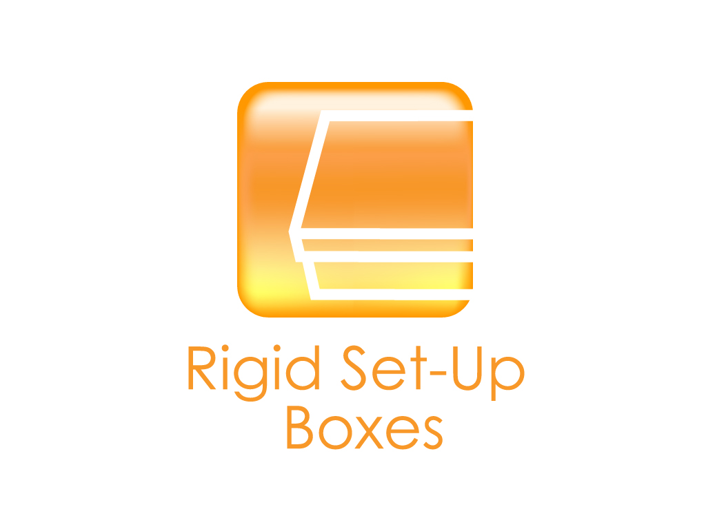 Rigid Set-Up Box Icon