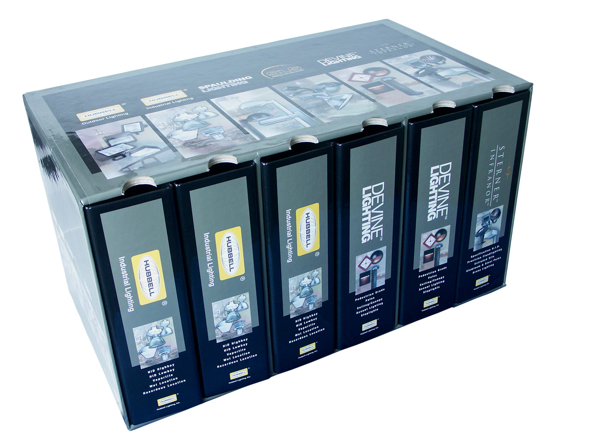 Oversized Turned-Edge Slipcase with 3-Ring Binders