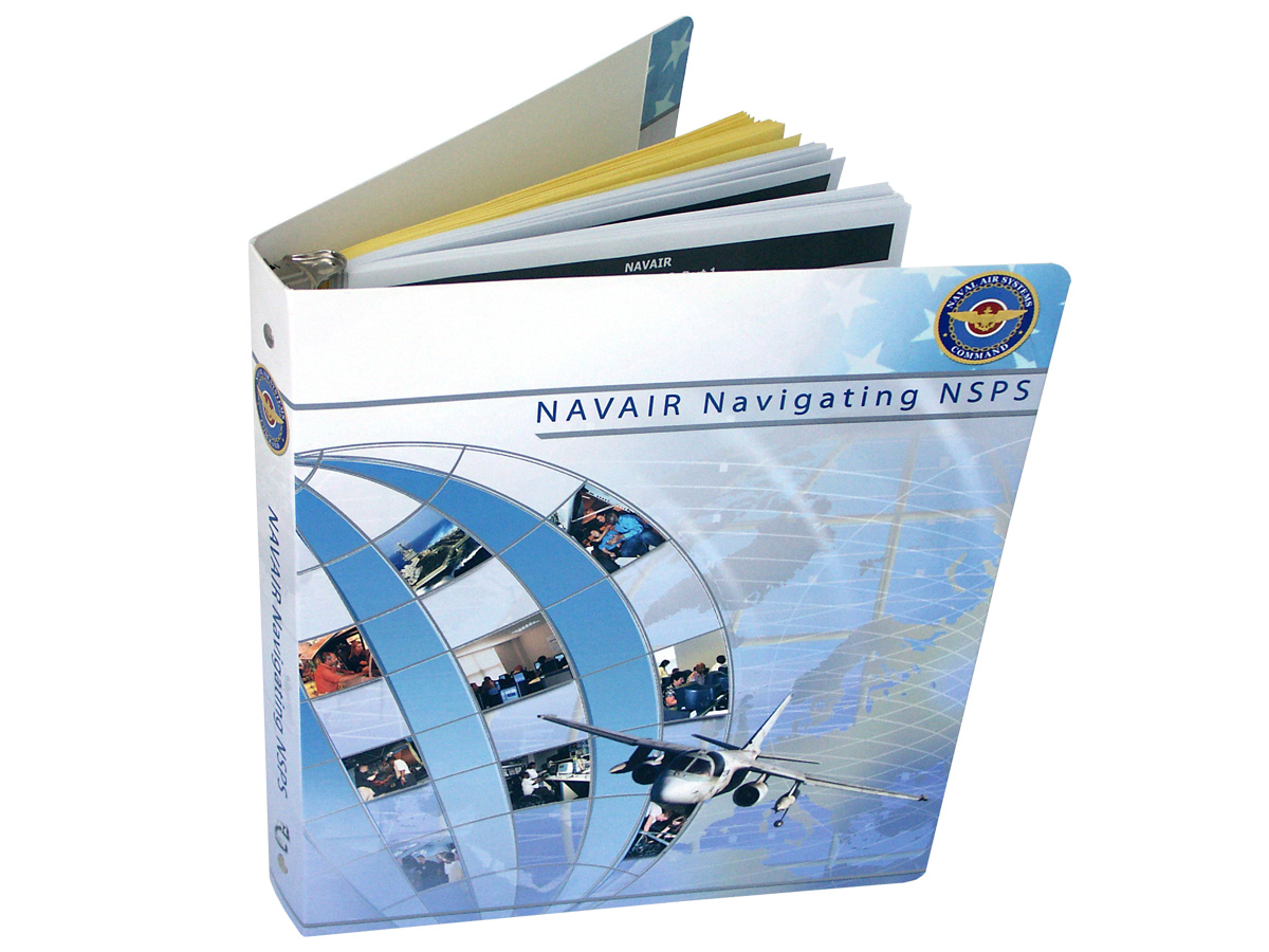 Full-Color Paperboard Binder with Tabs