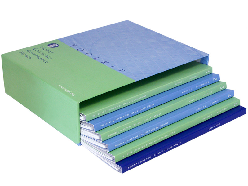 Slipcase with Six Fully Concealed Plastic Coil Books