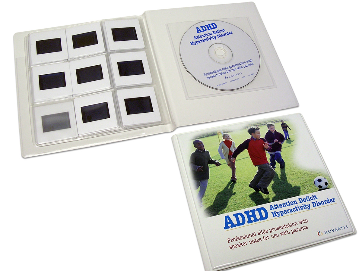 Multimedia Packaging complete with Slide Holders and CD Pocket
