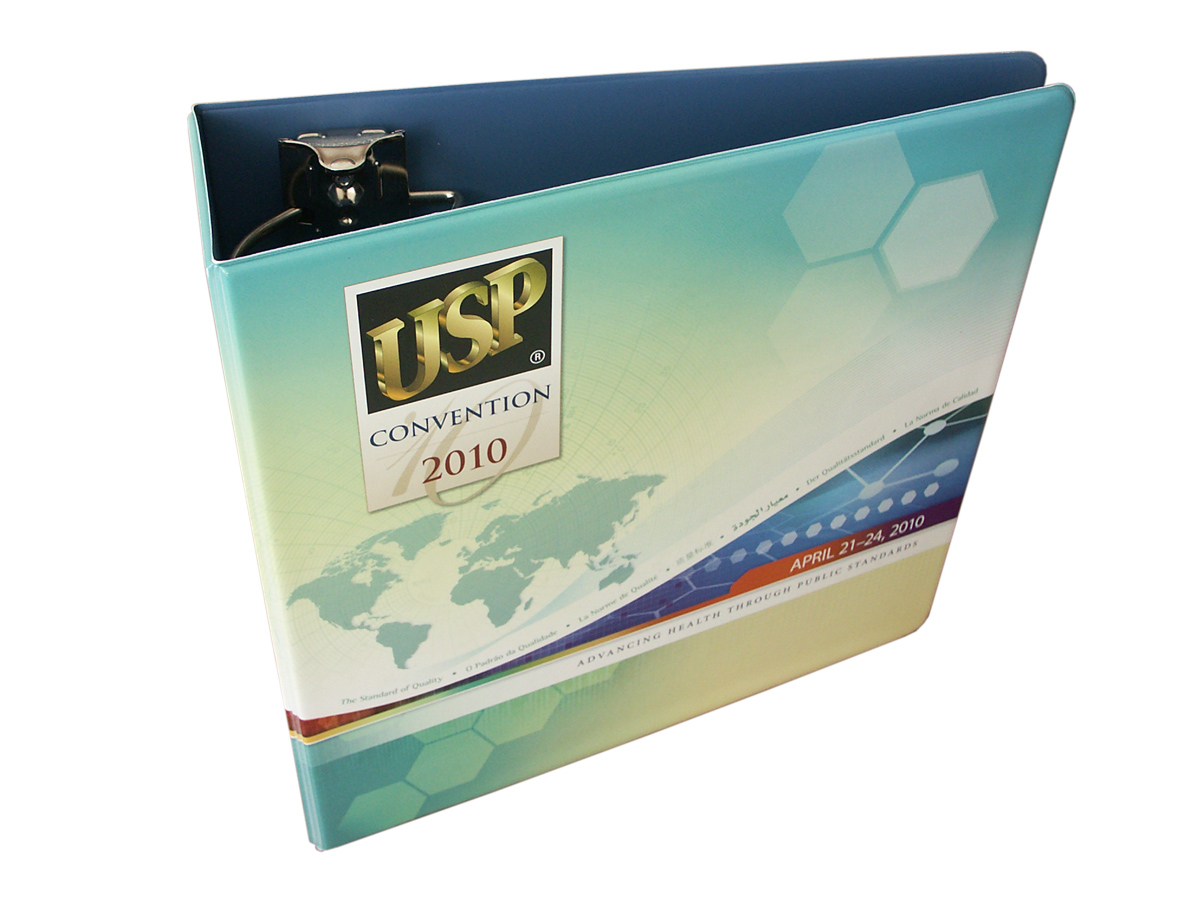 Full Color Vinyl Binder